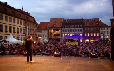 Matthias Rauch beim internationalen Varietéfestival
